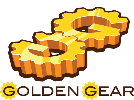 Golden Gear Games logo